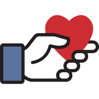 facebook fundraiser icon